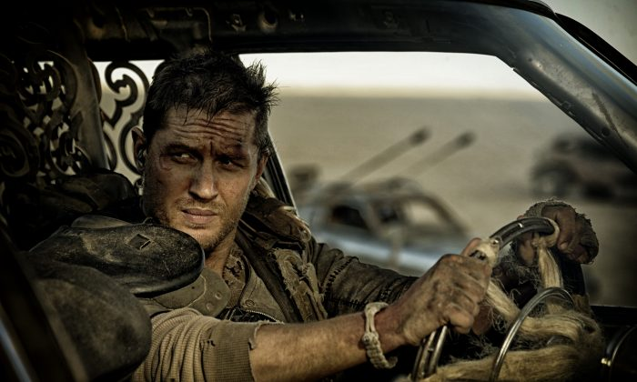 Tom Hardy as the rebooted Max (Jasin Boland/Warner Bros)
