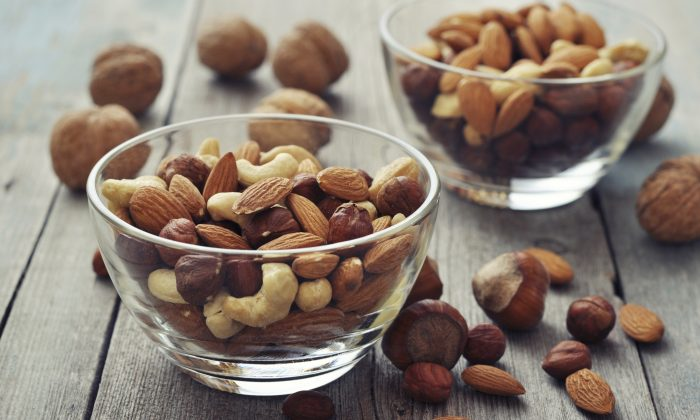 Nuts are packed with nutrients and antioxidants, helping your body fight illness and stay young.