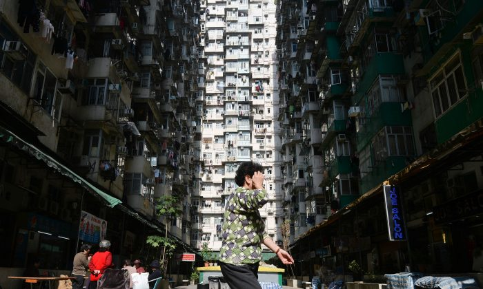 Residential Hong Kong on December 30, 2013. (Dale de la Rey/AFP/Getty Images)