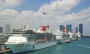 Over a Dozen Cruise Ships Are Still Scrambling for Safe Harbor