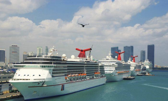 Cruise ships in Port of Miami  (photosvit, iStock)