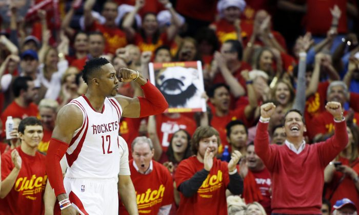 Dwight Howard and the Houston Rockets are back in the conference finals for the first time since 1997. (Scott Halleran/Getty Images)