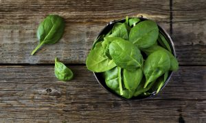 Spinach, a Nutritionally Dense Food