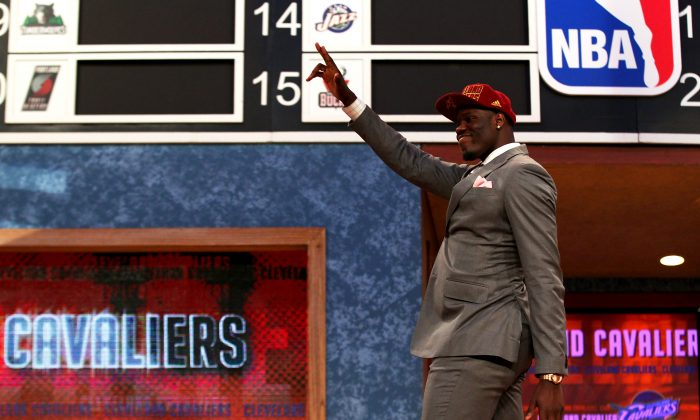 Anthony Bennett of UNLV was taken number one overall by Cleveland in 2013, but has yet to make a real impact in the NBA. (Mike Stobe/Getty Images)
