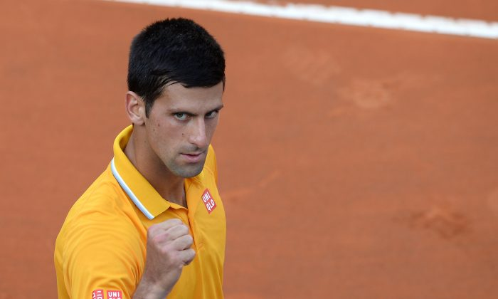 Novak Djokovic is ranked number one in the world, but has never won the French Open. (Filippo Monteforte/AFP/Getty Images)