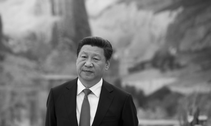 Chinese leader Xi Jinping at the Great Hall of the People in Beijing on May 17, 2015. (Saul Loeb/AFP/Getty Images)