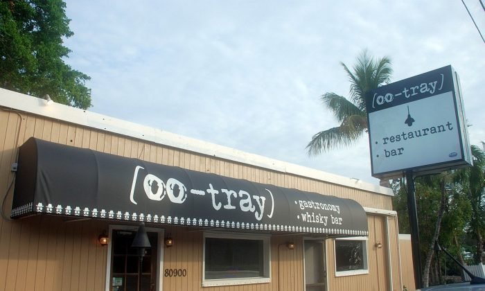 Oo-Tray Restaurant in Islamorada, Florida offers unique cuisine and the only whisky bar of its kind in the Keys. (John Christopher Fine copyright 2015)