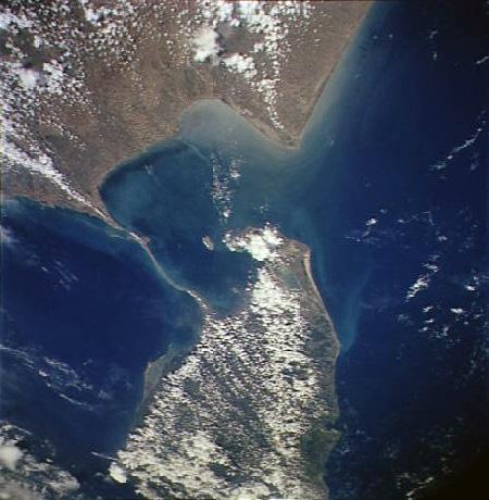 Adam's Bridge (NASA)
