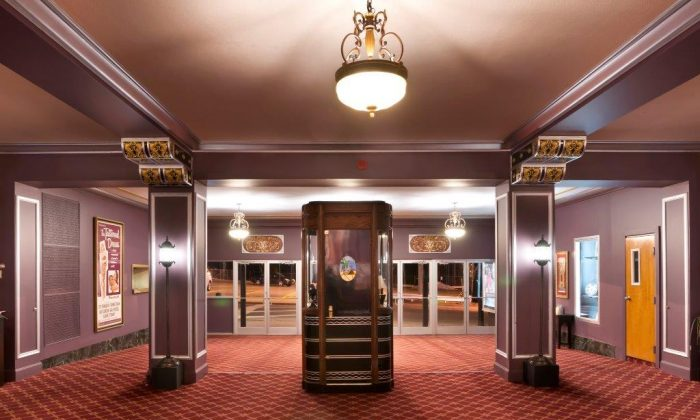 The lobby of the Historic Paramount Theater in Middletown, NY. (John Nitzel/The Historic Paramount Theater)