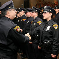 Cleveland Police recruits. (Courtesy of Cleveland Police Department)