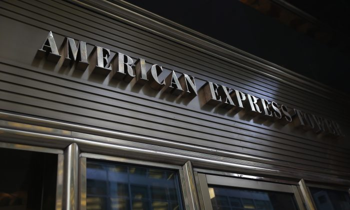 The American Express headquarters in New York, New York. (John Moore/Getty Images)