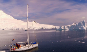 Someone Sailed Across Antarctica and Recorded It With a Drone (Video)