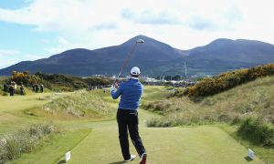Royal County Down Golf Club Shows Itself Well
