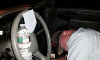 'The Drunk Knight' Helps Intoxicated Man at the Wheel