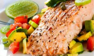 Recipe: Grilled Salmon and Avocado Salsa