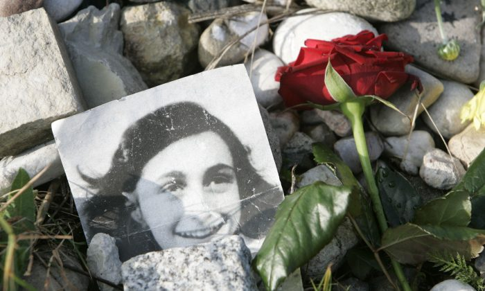 The site of the Bergen-Belsen Memorial where  Anne Frank and her sister Margot were killed in Germany.  (AP Photo/Joerg Sarbach)