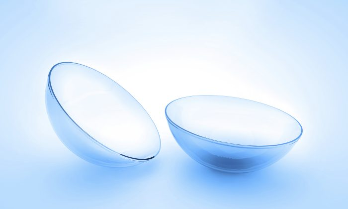 Stock image of contact lenses (joingate/iStock)