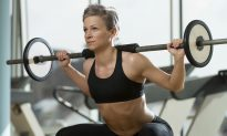 Dumbbell Squat With Curl and Overhead Press