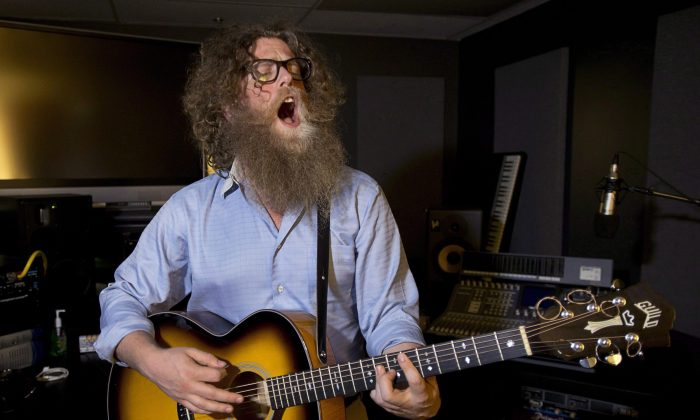 Ben Caplan, a Nova Scotia musician, is seen in Halifax March 6, 2013. Caplan runs his career as a small business and takes responsibility for marketing, promoting, and controlling his artistic expression. (The Canadian Press/Andrew Vaughan)