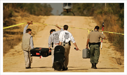 FBI Evidence Response Team (Courtesy FBI)