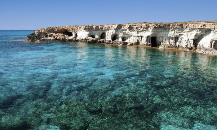 Sea caves near Cape Greko (volmart, iStock)