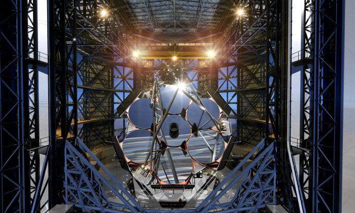 An artist's rendition of the Giant Magellan Telescope (Giant Magellan Telescope Organization)