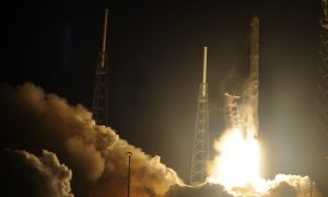 Watch This GoPro Footage of a SpaceX Rocket Falling Back to Earth