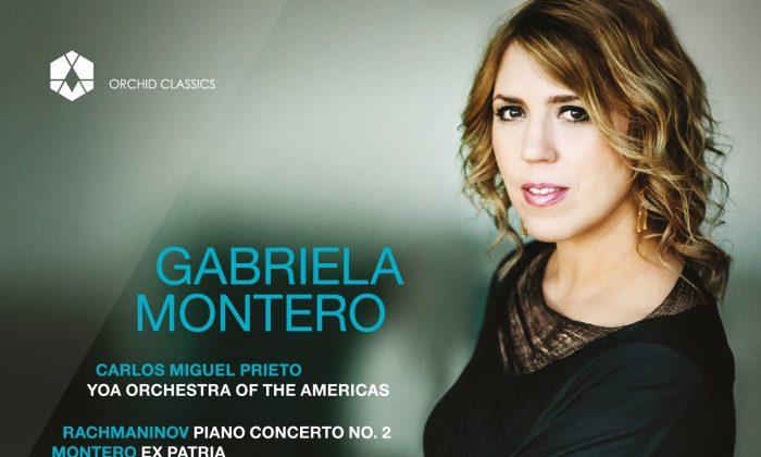 "Gabriela Montero plays Rachmaninov and her own ""Ex Patria."" (Orchid Classics)"