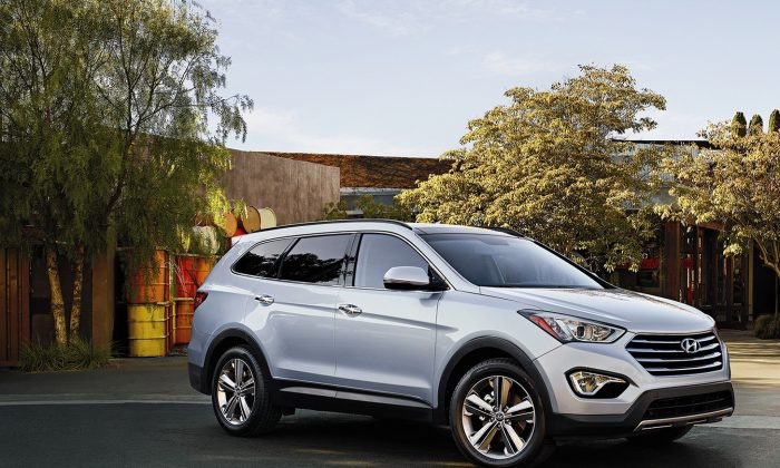 2015 Hyundai Santa Fe (Courtesy of Hyundai)