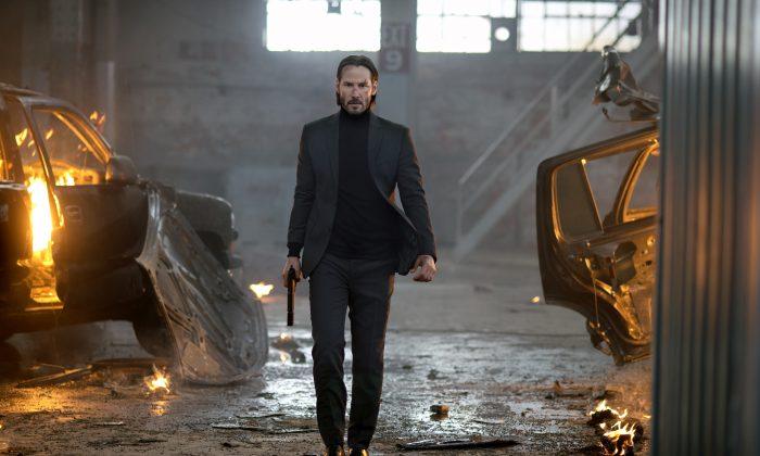 """Keanu Reeves in """"John Wick.""""  (Lionsgate/David Lee)"""