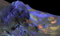 Hidden Ice Blamed for Crazy Crater on Mars