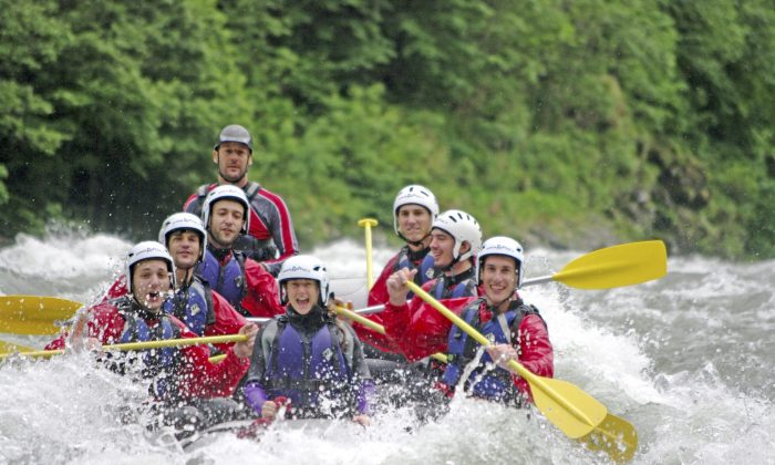 White water rafting in Colorado (iStock)