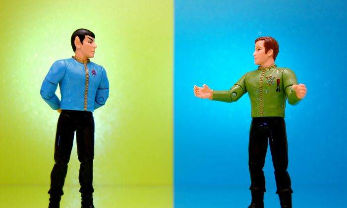 """This process of a re-creation is essentially a transport without having any matter move from location A to location B,"" says Tzu-Chieh Wei. ""Loosely speaking you could also view teleportation as a miniature version of teletransportation in the 'Star Trek' movies.""  (JD Hancock/CC BY 2.0)"