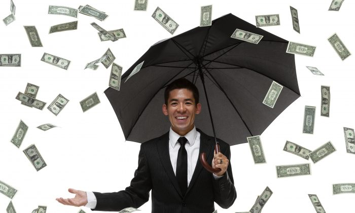 This Chinese umbrella company is literally making it rain for investors. (iStock).