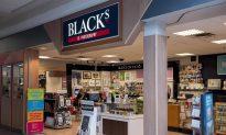Blacks Fades to Black