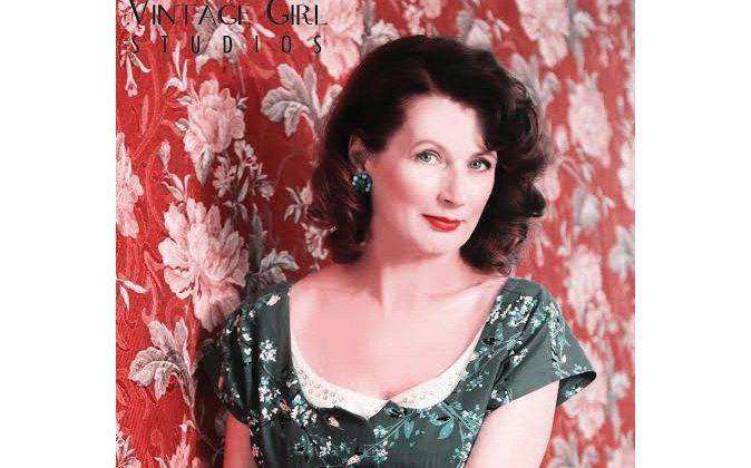 Theresa Campbell McKee, vintage connoisseur and owner of online boutique Blue Velvet Vintage. (Courtesy of Theresa Campbell McKee)