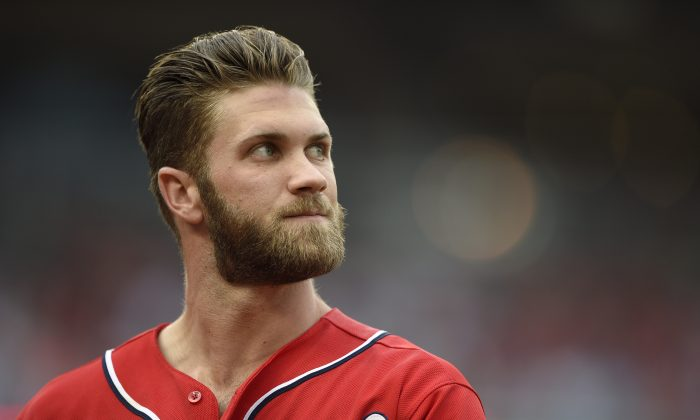 Washington Nationals' Bryce Harper is second in the majors with 20 home runs, while his .713 slugging is better than anyone's. (AP Photo/Nick Wass)
