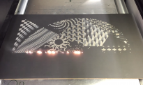 Watch This Laser 'Paint' a Work of Art in Under 3 Minutes