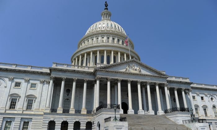 The U.S. Capitol building is pictured in Washington, on July 29, 2011. (Jewel Samad/AFP/Getty Images)