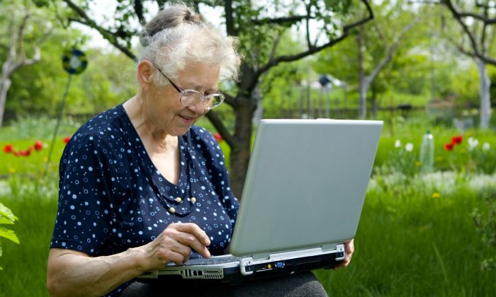 More than half of those aged 65+ are currently using the internet, up from almost 40% in the last study of 2010.  (Marsza/iStock)