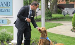 Funeral Homes Increasingly Using Dogs to Comfort Mourners