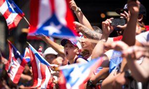 Rita Moreno Dances With Cardinal Dolan at Puerto Rico Parade