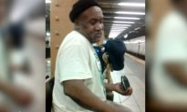 Video: Homeless Man in NYC Subway Does Awesome 'My Girl' Rendition