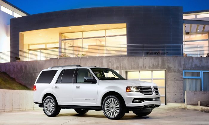 2015 Lincoln Navigator (Courtesy of NetCarShow.com)
