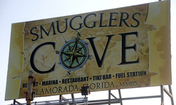 Smugglers Cove Resort and Marina is located on the ocean side at Mile Marker 85.5 in Islamorada, Florida. (John Christopher Fine copyright 2015)