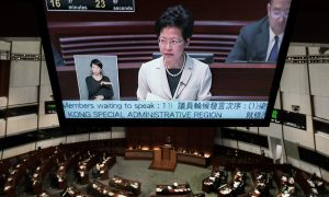 Debate on Hong Kong Election Plan Begins