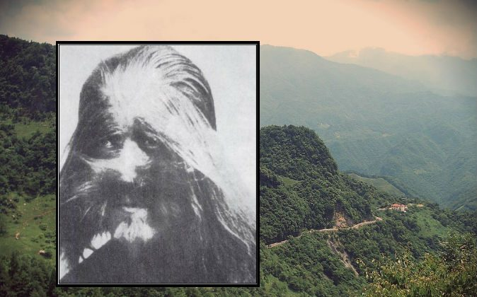 Are reported sightings of China's version of Bigfoot, Yeren, perhaps referring to people with unusual conditions such as Li Baoshu shown here in the 1920s, who was born with a condition that caused him to grow hair excessively? (Public domain) Background:  Shennongjia nature reserve in China, where most Yeren sightings have occurred. (Vmenkov/Wikimedia Commons; edited by Epoch Times)