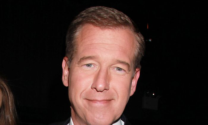 "FILE - This April 4, 2012 file photo shows NBC News' Brian Williams, at the premiere of the HBO original series ""Girls,"" in New York. (AP Photo/Starpix, Dave Allocca, File)"