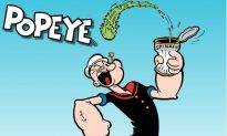 Real-Life 'Popeye' Puts His Talents to Use