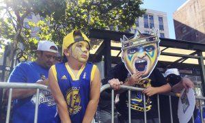 Parade Celebrating NBA Champion Warriors Winding Down